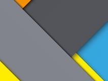 Ovanlig modern materiell design för bakgrund royaltyfri illustrationer