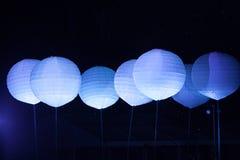 Ovanlig nattetidunderhållning Arkivbilder