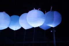 Ovanlig nattetidunderhållning Royaltyfria Bilder