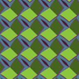 Ovanlig och enkel abstrakt geometrisk modell, sömlös vektor Arkivbilder
