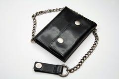 ovanlig plånbok för läder Fotografering för Bildbyråer