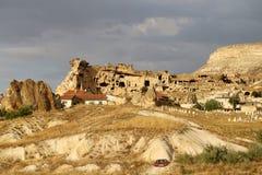 Ovanliga berg i Cappadocia Fotografering för Bildbyråer