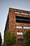 Ovanliga byggnader, Las Tablas, Madrid Arkivfoton