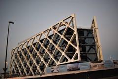 Ovanliga byggnader, Las Tablas, Madrid Fotografering för Bildbyråer