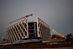 Ovanliga byggnader, Las Tablas, Madrid Royaltyfri Foto