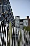 Ovanliga byggnader, Las Tablas, Madrid Royaltyfri Fotografi