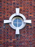 ovanligt fönster Royaltyfri Fotografi