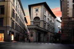 Ovanligt hus i Florence arkivfoto