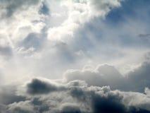 ovannämnda himmlar 1 Royaltyfri Fotografi