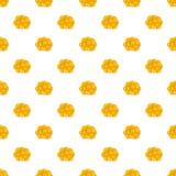 Ovary pattern, cartoon style. Ovary pattern. Cartoon illustration of ovary vector pattern for web Stock Photo