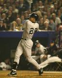 Ovatta di David Justice nei 2000 campionati di baseball Fotografia Stock Libera da Diritti
