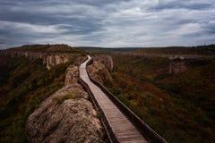 Ovech-Festung, Bulgarien stockfotografie