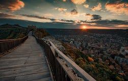 Ovech-Festung, Bulgarien stockbilder