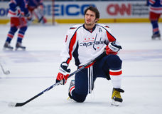 Ovechkin Stretches Stock Photos