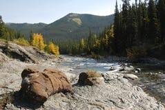 Ovejas River Valley del otoño imagen de archivo libre de regalías