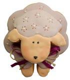 Ovejas rosadas del pan de jengibre fotografía de archivo