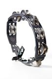 Ovel Tambourine On White Bk Royalty Free Stock Photography