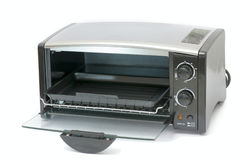 Oven. A small electric oven for baked bread Stock Image