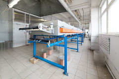 Oven for annealing wire. Royalty Free Stock Images