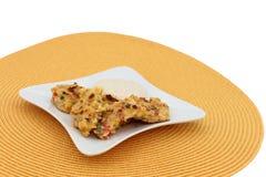Oven Baked Corn Cakes stock afbeeldingen