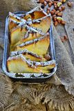 Oven Baked French Toast foto de stock