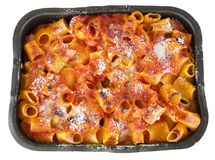 Oven baked pasta. Stock Images