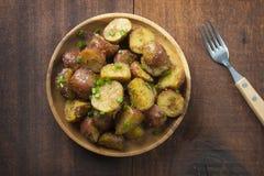Oven baked potatoes Stock Photos