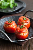 Oven baked tomatoes Royalty Free Stock Photography