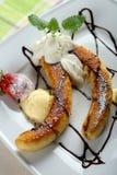 Oven banana Royalty Free Stock Photo