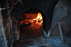 Oven brick Stock Images