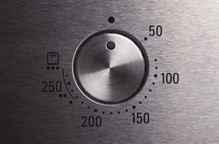 Oven Button Stock Photography