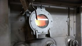 Oven Coal foto de stock