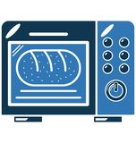 Oven Color Vector Illustration Isolated entièrement Editable Photos libres de droits