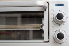 Oven controls Royalty Free Stock Photography