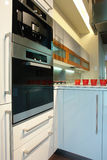 Oven in de keuken Stock Foto's