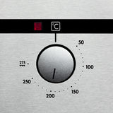 Oven dial Stock Image