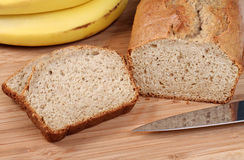 Oven Fresh Banana Bread Stock Photography