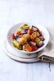 Oven-geroosterd Autumn Vegetables Stock Afbeelding