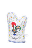 Oven glove. From Portugal, isolated on white background Royalty Free Stock Images