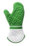 Oven Glove. On White Background Stock Photos