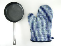 Oven glove Royalty Free Stock Images