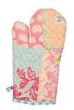 Oven Glove isolou-se no fundo branco Foto de Stock Royalty Free