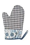 Oven Glove lokalisierte auf weißem Hintergrund Lizenzfreie Stockfotografie