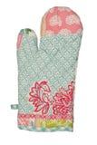 Oven Glove lokalisierte auf weißem Hintergrund Lizenzfreie Stockbilder
