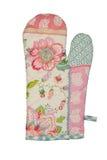 Oven Glove lokalisierte auf weißem Hintergrund Lizenzfreies Stockbild