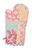 Oven Glove lokalisierte auf weißem Hintergrund Lizenzfreies Stockfoto