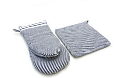Oven gloves Stock Photos