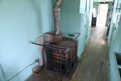 Oven het Houten Branden stock foto