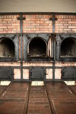 Oven for incineration in Weimar/Buchenwald Royalty Free Stock Photo