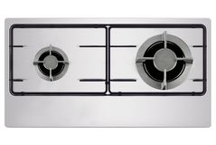 Oven isolated on white stock images
